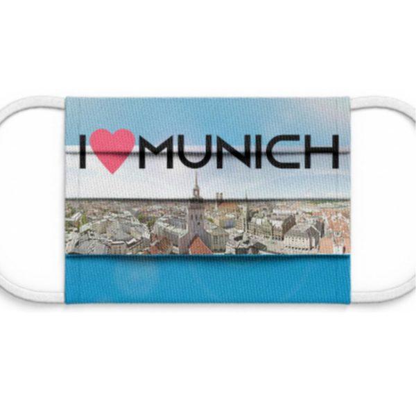 Behelfsmaske Motiv München